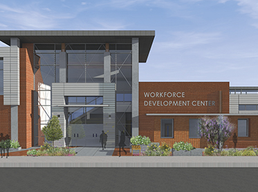 Workforce Development Center building prototype